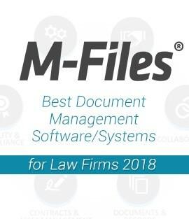 M-Files – the Best Document Management Software/Systems for Law Firms, 2018